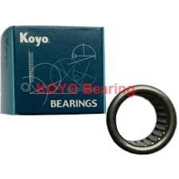 KOYO 6026-2RS deep groove ball bearings